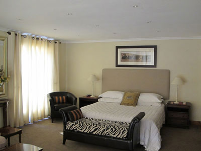 Suiet at Mountain View Guest House - Luxury B&B Guesthouse accommodation for business and leisure in Newlands, Cape Town's Southern Suburbs