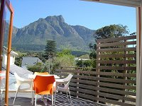 Patioa at Mountain View Guest House - Luxury B&B Guesthouse accommodation for business and leisure in Newlands, Cape Town's Southern Suburbs
